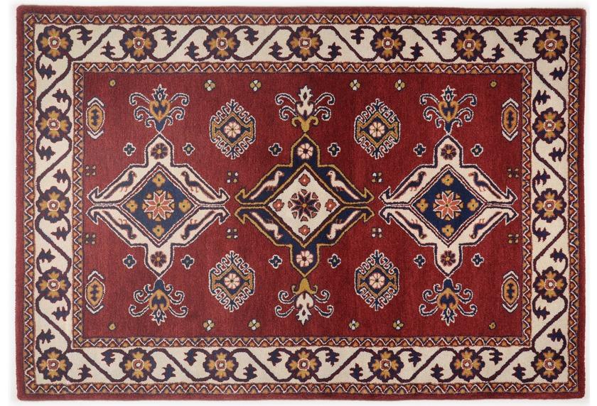 Oriental Collection Orient-Teppich, Royal Kazak, 242, rot