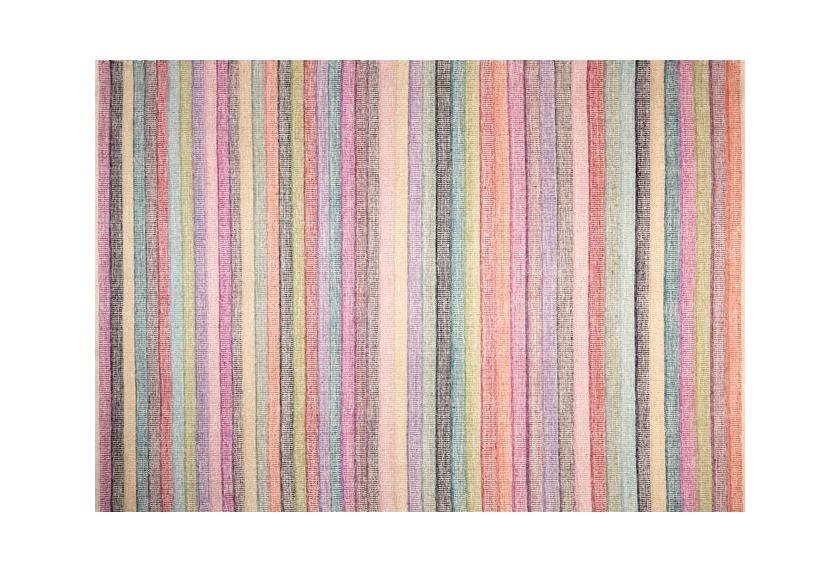 Papilio Teppich, Pastel, Multi-Farbig, aus 90% Baumwolle