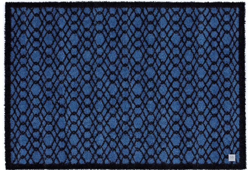 Barbara Becker Fußmatte BB String true blue