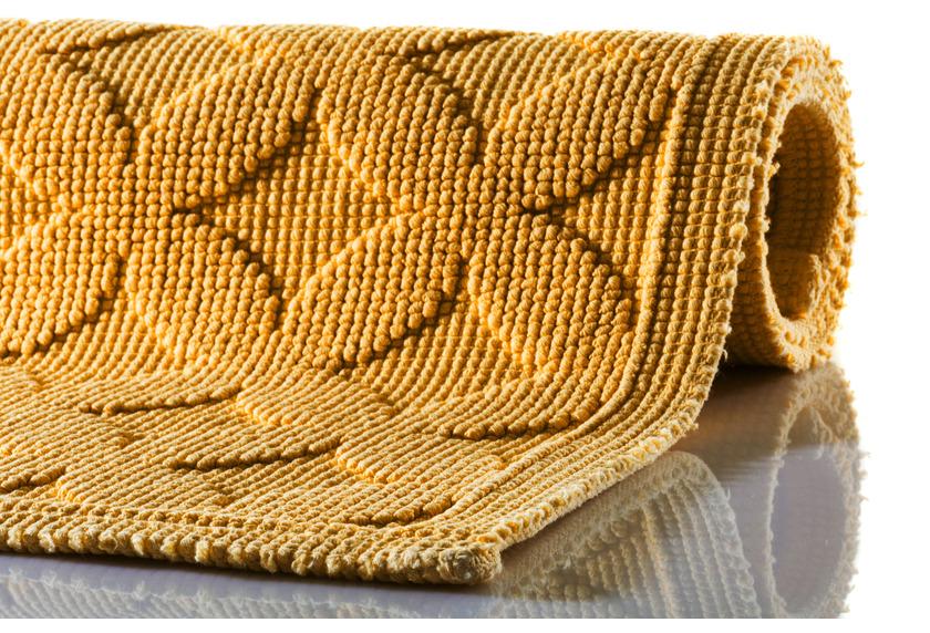 RHOMTUFT Badteppich SEASIDE gold