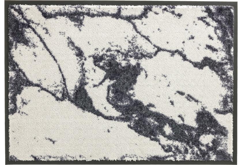Schöner Wohnen Fußmatte Miami Design 001, Farbe 004 Marmor silber