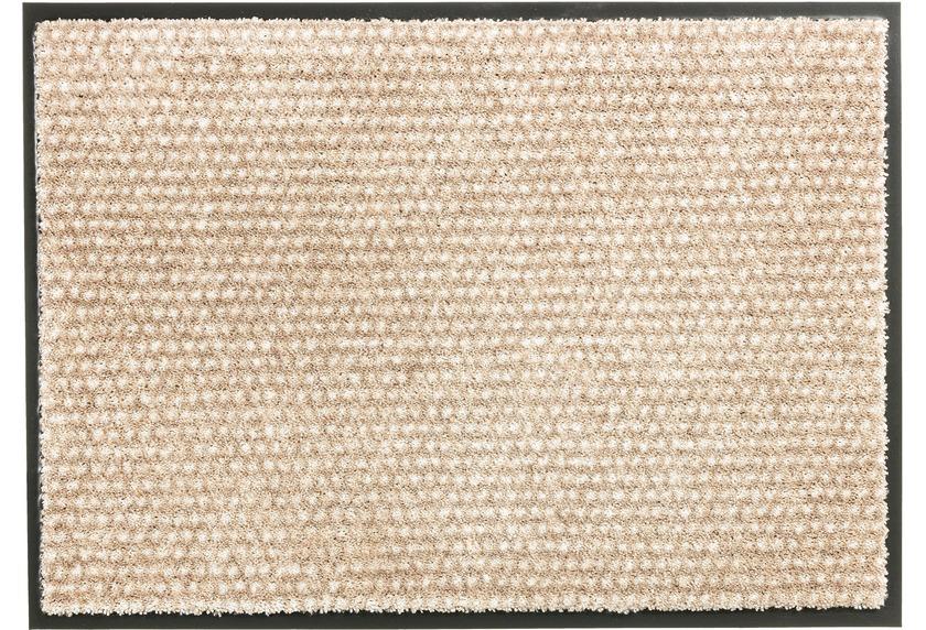 Schöner Wohnen Fußmatte Miami Design 002, Farbe 006 Punkte beige