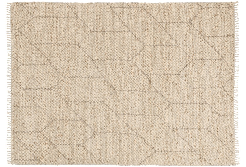 Schöner Wohnen Handwebteppich Sense Design 183, Farbe 006 beige
