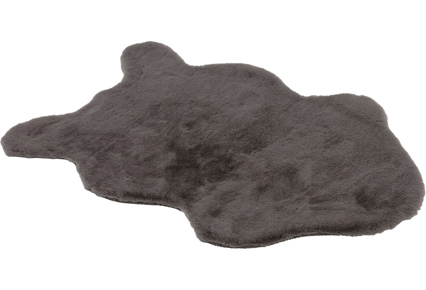 Schöner Wohnen Kollektion Kunstfell Tender shape Design 180, Farbe 040 grau