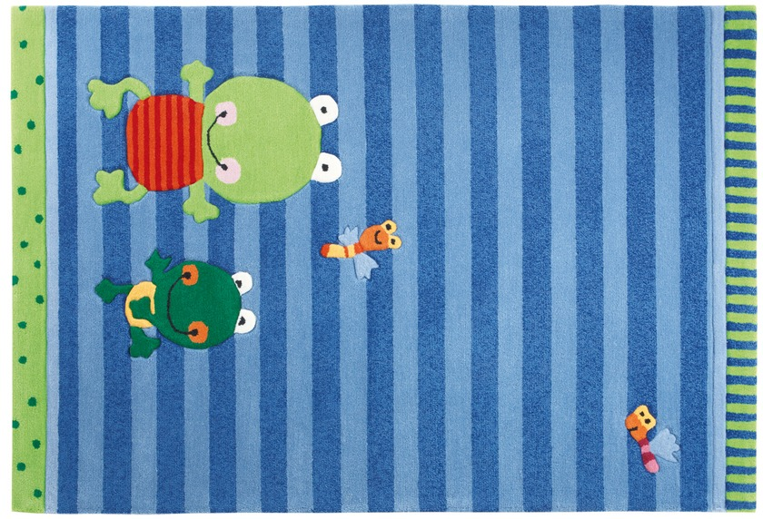 Sigikid Kinder-Teppich, Susi Sumpfhose SK-3348-01 blau