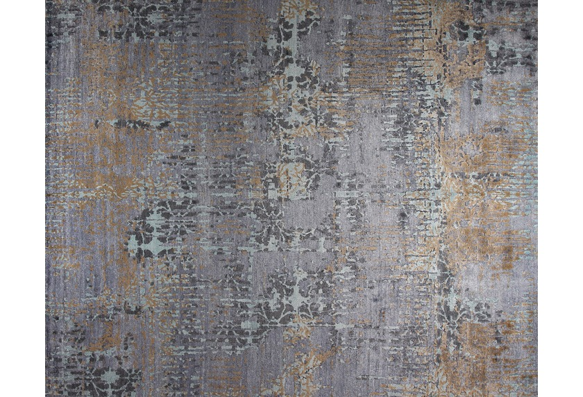 talis teppiche Viskose-Handknüpfteppich OPAL, Design 4618