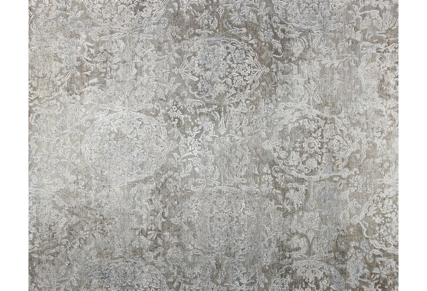 talis teppiche Handknüpfteppich TOPAS OXIDIZED DELUXE, Design 505