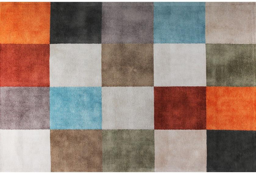 talis teppiche Viskose-Handloomteppich AVIDA Farbmusterteppich, Design 298
