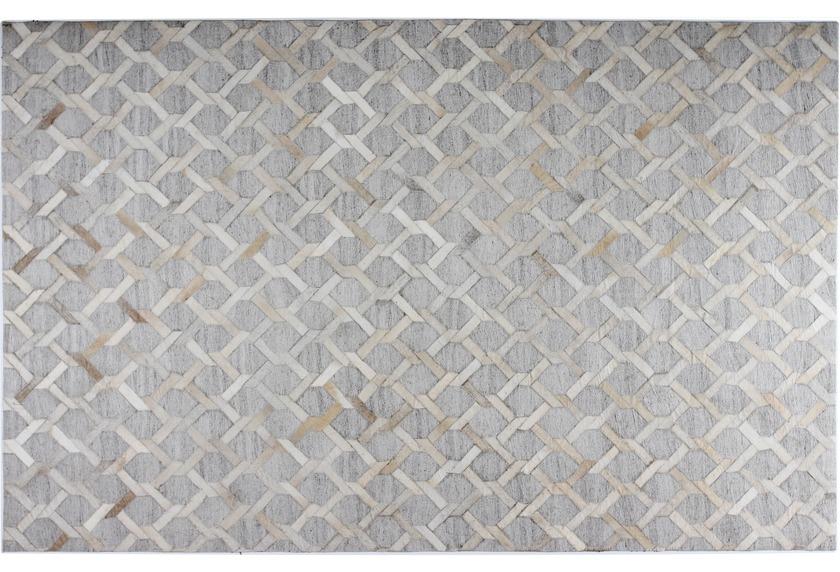 talis teppiche Lederteppich LEATHER-Textile, Design 4605