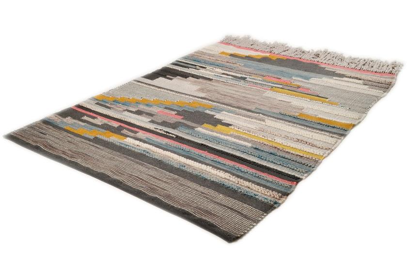 THEKO Handwebteppich Beni Ourain Nomadic-Design multicolor hell