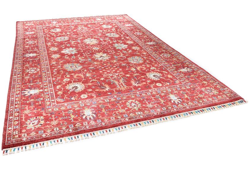 THEKO Orientteppich Kandashah 20 red multi 210 x 296 cm