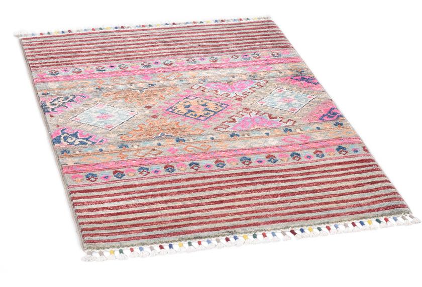 THEKO Orientteppich Kandashah 3074,2 grey multi 60 x 91 cm