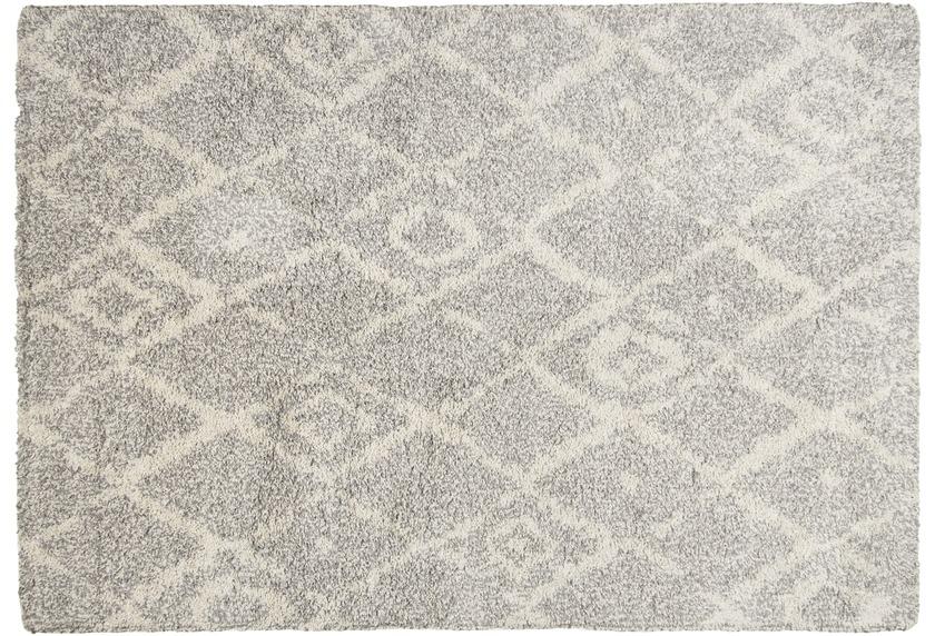 THEKO Teppich Color Shag 621 650 grau