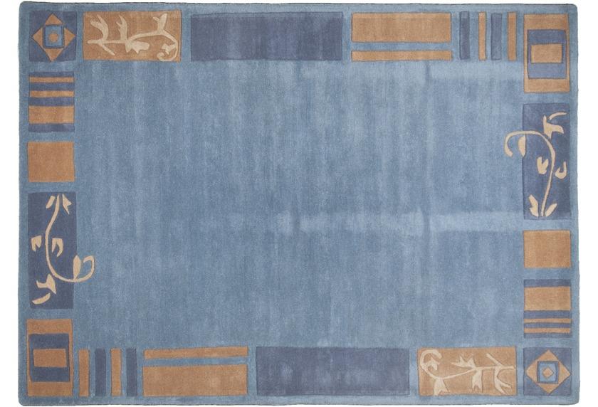 THEKO Teppich Hawaii FE-7098 700 blau