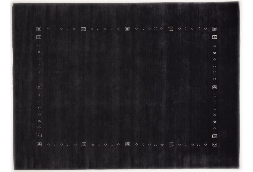 THEKO Gabbeh-Teppich Lori Dream 3961 anthracite