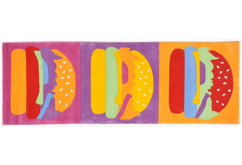 THEKO Teppich Menorca, Burger, multicolor