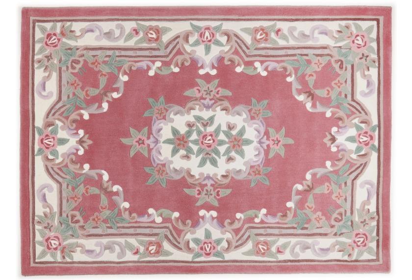 THEKO Teppich Ming, Aubusson 501, rose