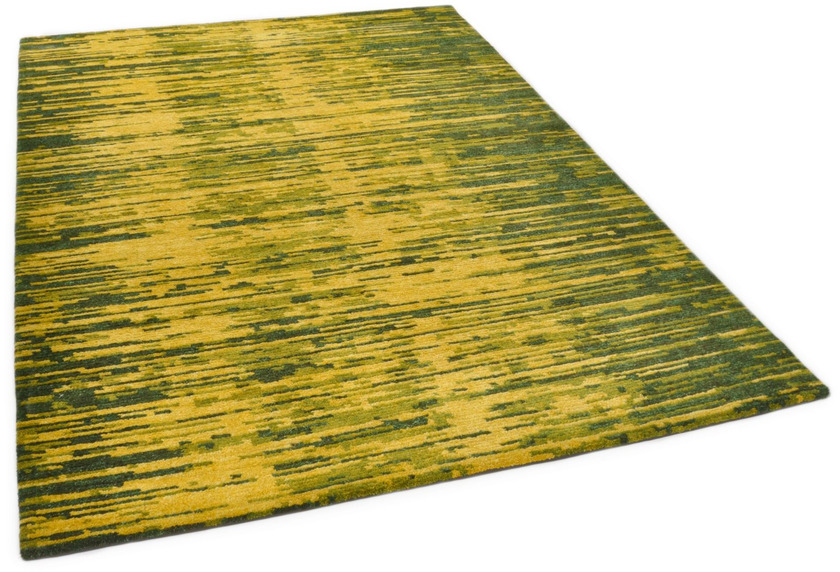 THEKO Nepalteppich Mugu 60 RS641 green multi 163 x 237 cm