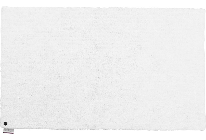 Tom Tailor Badteppich Cotton Double UNI 101 weiss