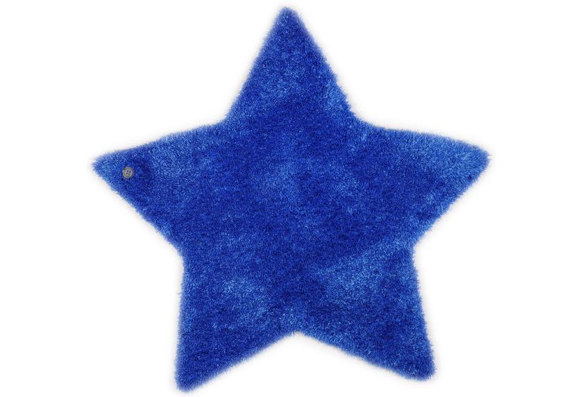 Tom Tailor Kinderteppich Soft Stern blau