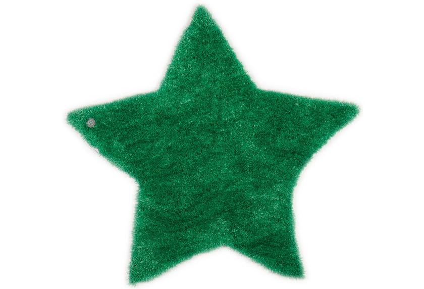 Tom Tailor Kinderteppich Soft Stern gruen