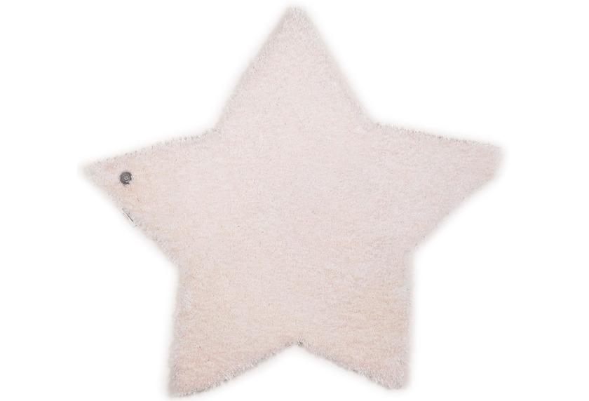 Tom Tailor Kinderteppich Soft Stern weiß
