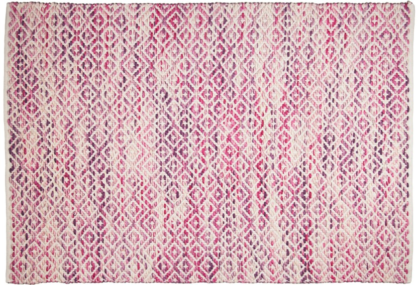 Tom Tailor Handwebteppich Smooth Comfort diamond pink