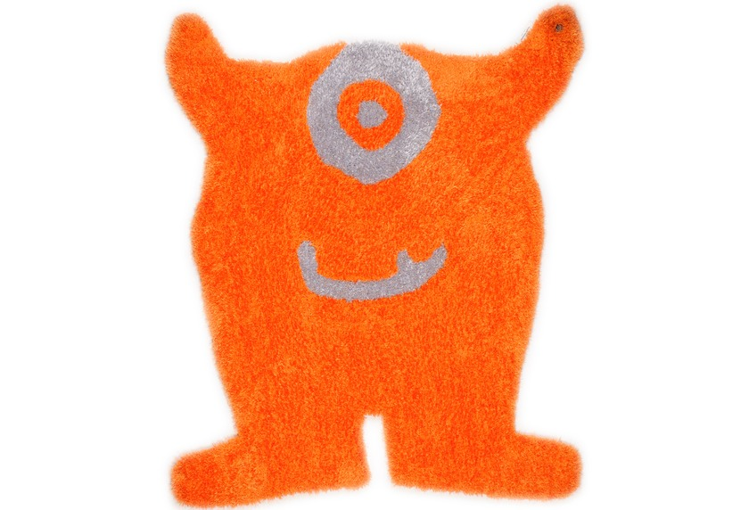 Tom Tailor Teppich Soft, Monster, orange