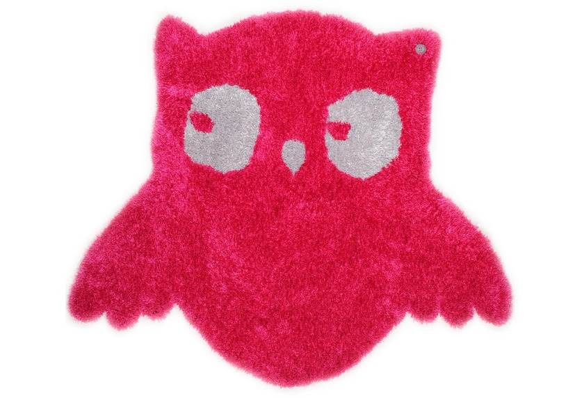 Tom Tailor Kinderteppich Soft Eule pink