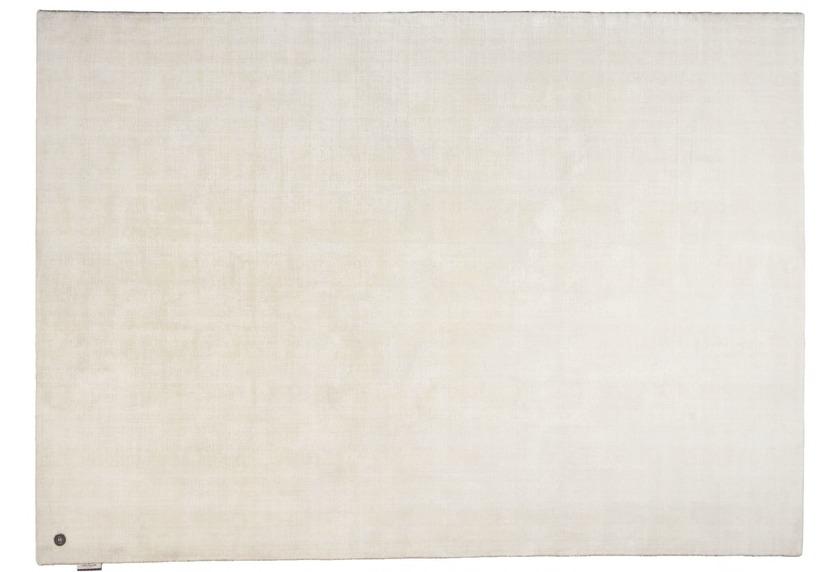 Tom Tailor Viskose-Teppich Shine, uni, 101 weiss