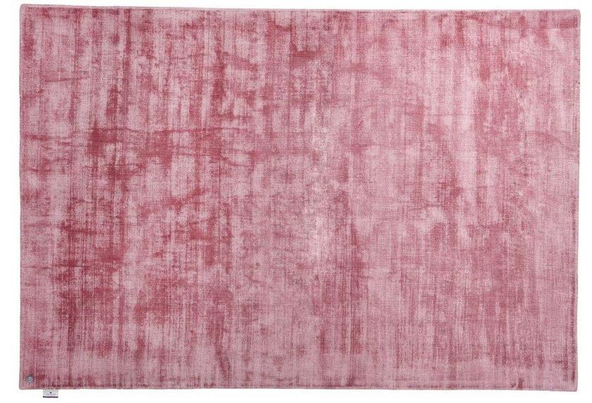 Tom Tailor Viskose-Teppich Shine, uni, 251 rose