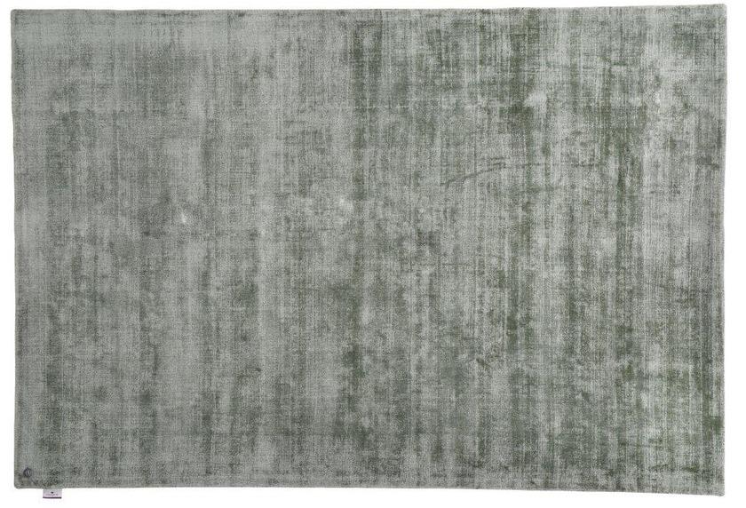 Tom Tailor Viskose-Teppich Shine, uni, 300 grün