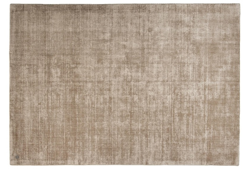 Tom Tailor Viskose-Teppich Shine, uni, 506 hellbraun