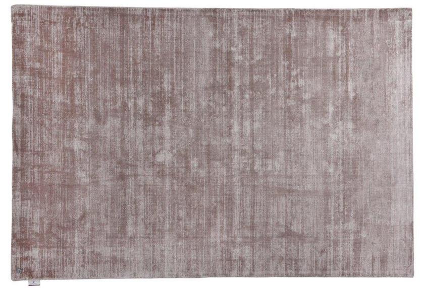 Tom Tailor Viskose-Teppich Shine, uni, 550 beige