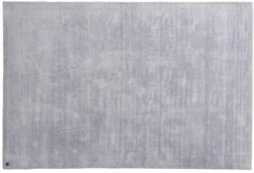 Tom Tailor Viskose-Teppich Shine, uni, 641 silber