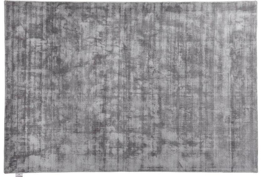 Tom Tailor Viskose-Teppich Shine, uni, 650 grau
