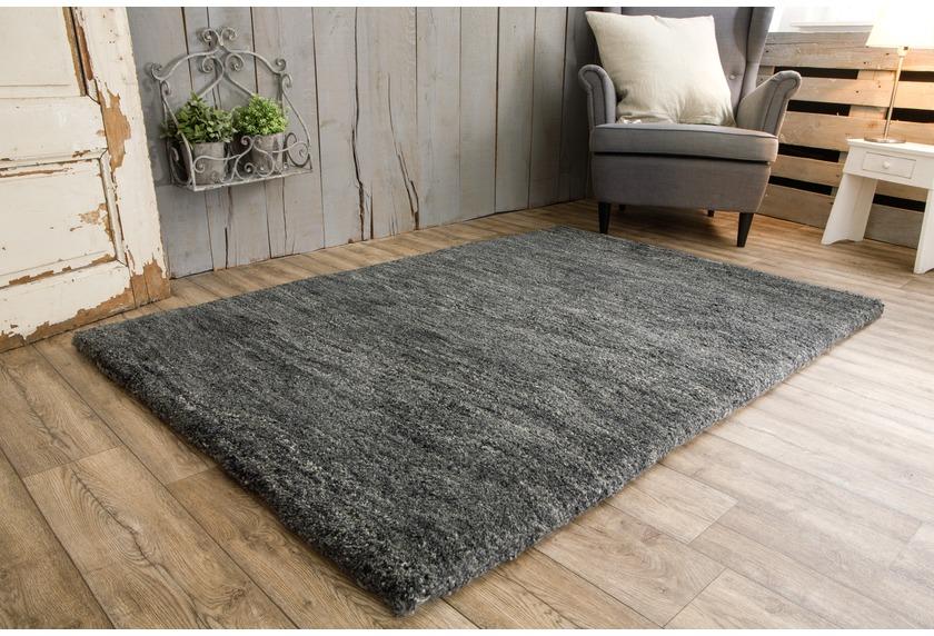 tuaroc berber teppich maroc de luxe 20 20 double anthrazit ebay. Black Bedroom Furniture Sets. Home Design Ideas