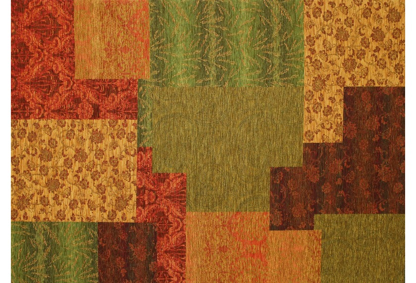 Kelii Patchwork-Teppich Alaska multi
