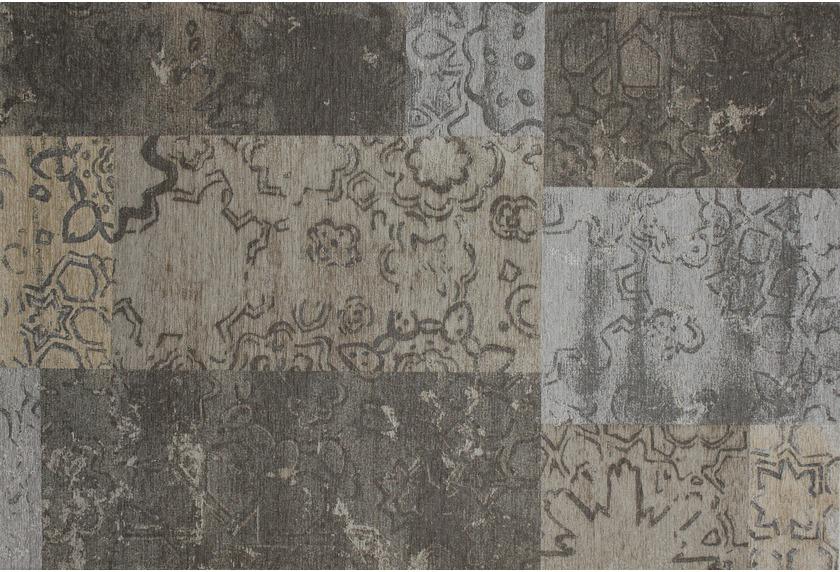 Kelii Patchwork-Teppich Colorado beige