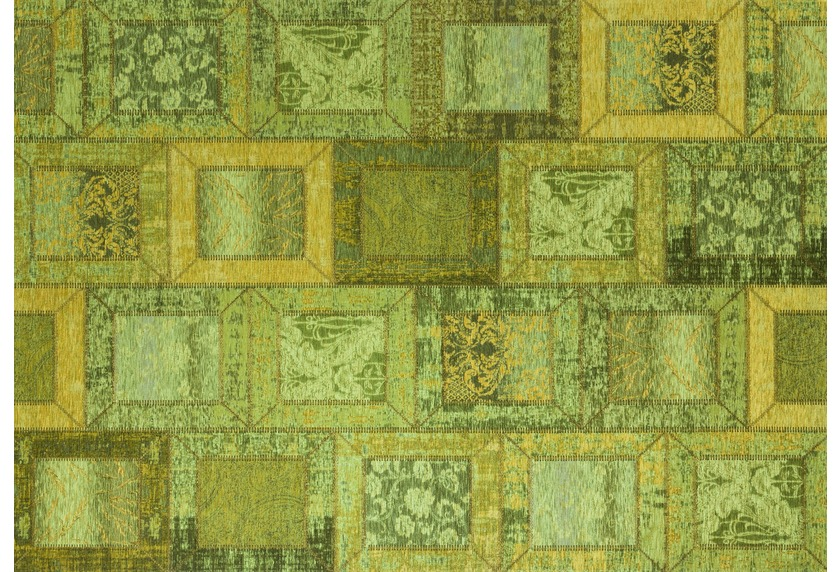 Kelii Patchwork-Teppich Montana apple