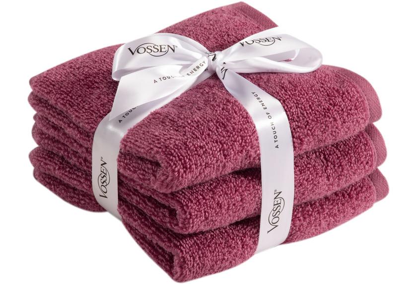 Vossen Frottierserie-Set Smart Towel blackberry