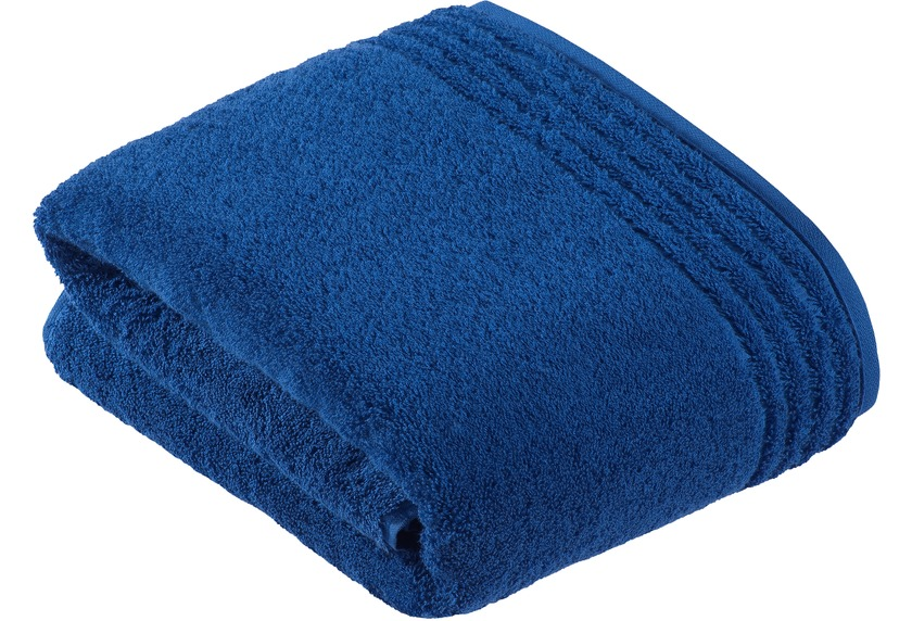 vossen handtuch vienna style supersoft deep blue. Black Bedroom Furniture Sets. Home Design Ideas