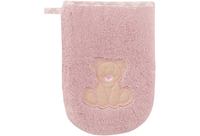 """Vossen Kinderwaschhandschuh \""""Teddy Waschhandschuh\"""" lavender one size"""