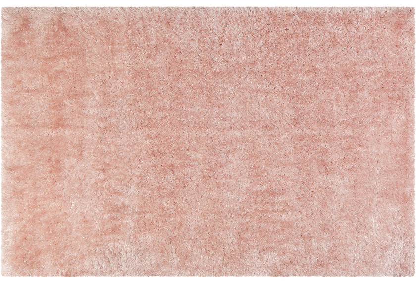 Wecon home Hochflor-Teppich Shiny Touch WH-1411-055 rosa