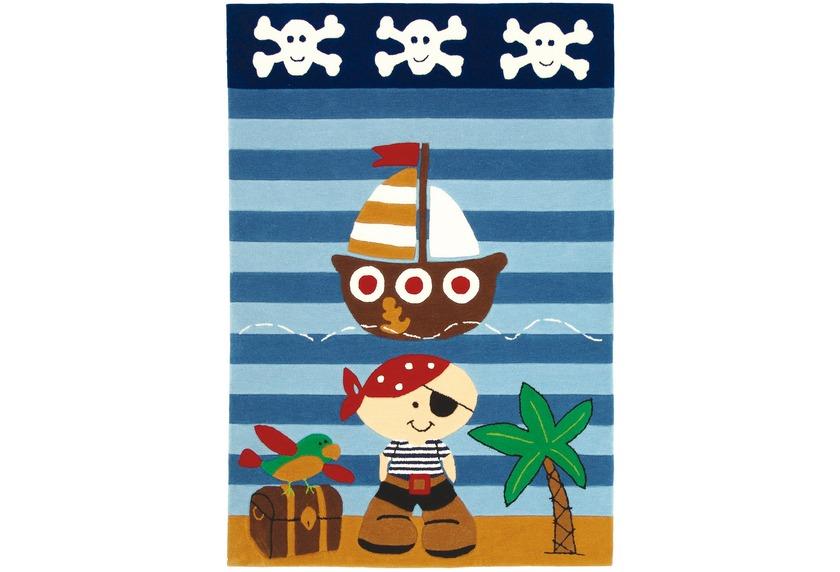 Wissenbach Kinder-Teppich Lifestyle Kids 2480 Pirat