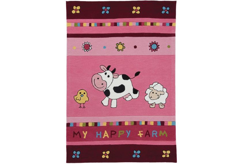 Wissenbach Kinder-Teppich Lifestyle Kids 3168 rosa