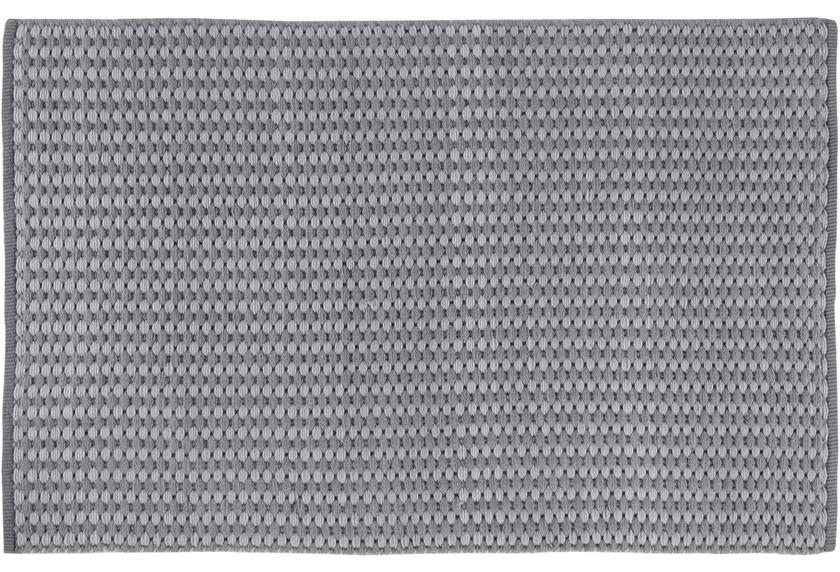 Wohn Idee Handwebteppich Finn, grau