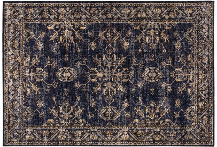 Wohn Idee Teppich Lara, blau