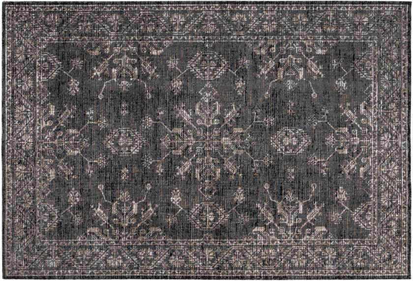 Wohn Idee Teppich Lara, grau