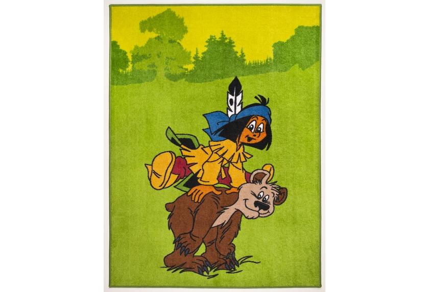 Yakari Kinderteppich Sungila 001 green